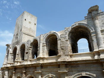 Romain theater in Arles