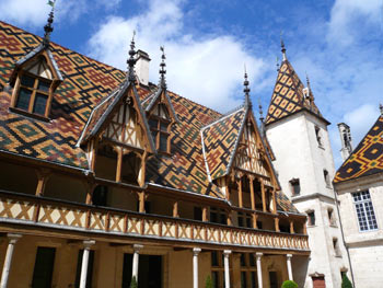 Homes of Beaune, Burgundy