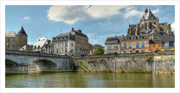 River cruise Mayenne