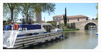 Barge Canal du Midi