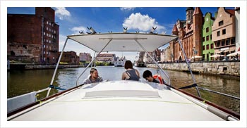 boat rental Poland